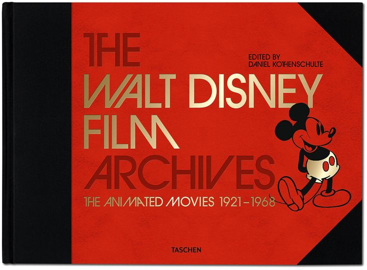 Walt Disney Film Archives The animated movies, 1921-1968 Tome 1 The Walt Disney film archives, The animated movies 1921-1968
