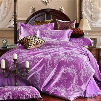 Jacquard duvet cover set bedding cotton sets super king queen bed clothing bed