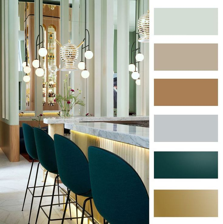 Colour palette of an amazing interior!!!