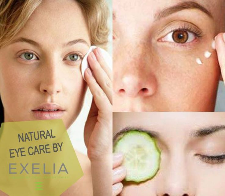 Treat your eyes naturally with Exelia!