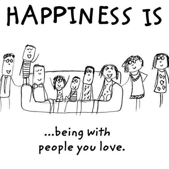 Bonheur, défi positif, Happiness is.....