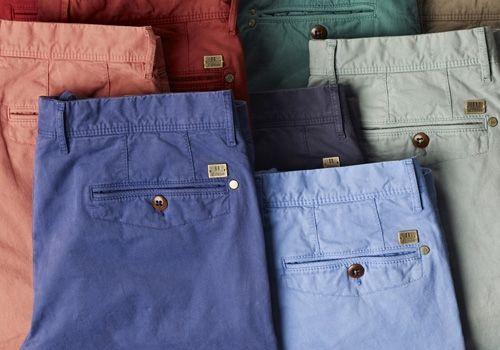 Herenbroeken in de mooiste modekleuren #Schulteherenmode #broeken