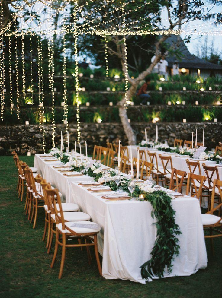 20 Awesome Outdoor Garden Wedding Ideas To Inspire Elegantweddinginvites Com Blog In 2020 Garden Wedding Reception Wedding Backyard Reception Beautiful Wedding Reception