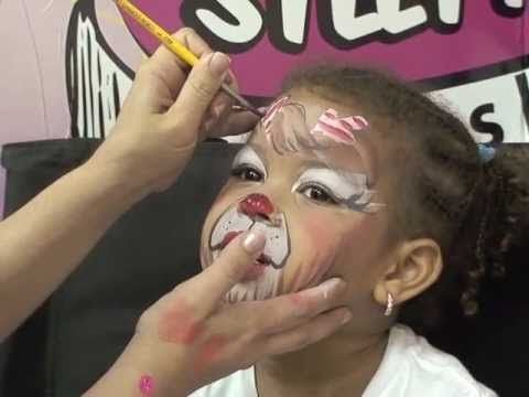 My lil' Reindeer - Face Painting Step-by-Step