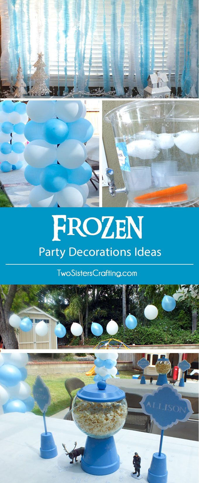 963 best Frozen Party Ideas images on Pinterest Frozen party