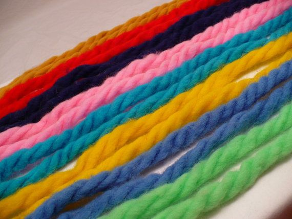 Remember wearing big yarn bows in your hair?