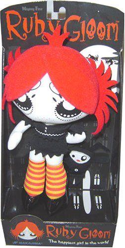 "Ruby Gloom 8"" Plush"