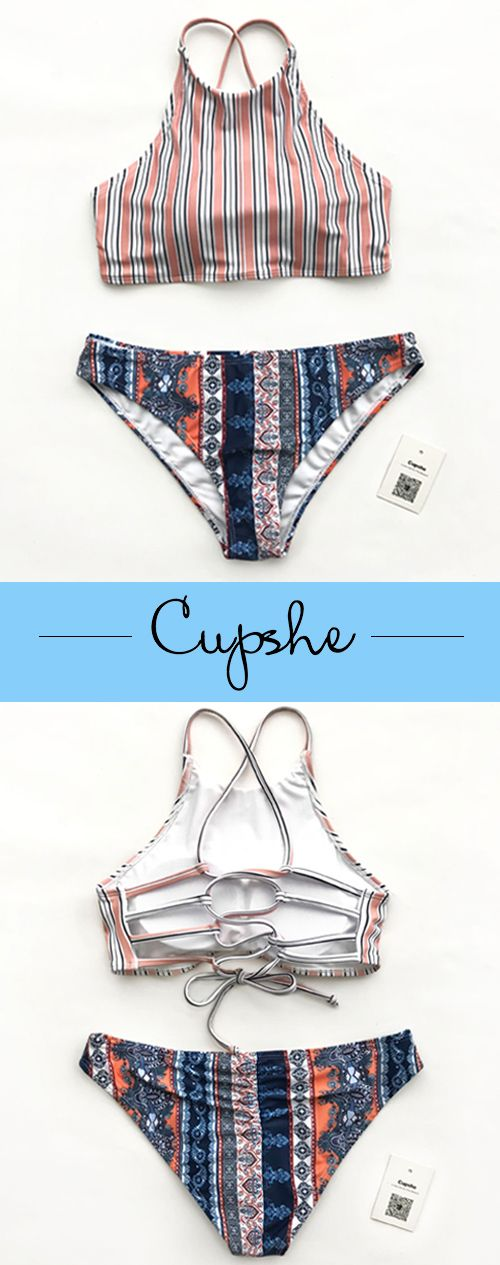 Happy new year~ Time to have something new for your beach vacation! Fabulous printed bikinis with shirring at bottom back design~ Adorable and affordable. Pack these babes and be the star from poolside to the beach! Check now.