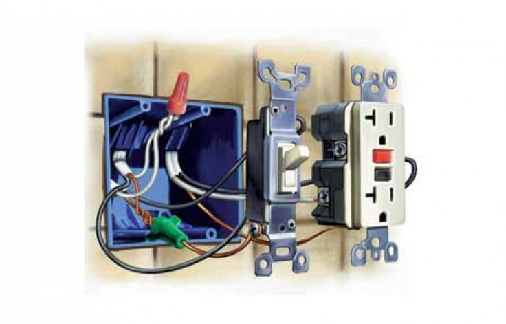 Diagram On Outlet Light Switch Wiring Diagrams Basic Electrical