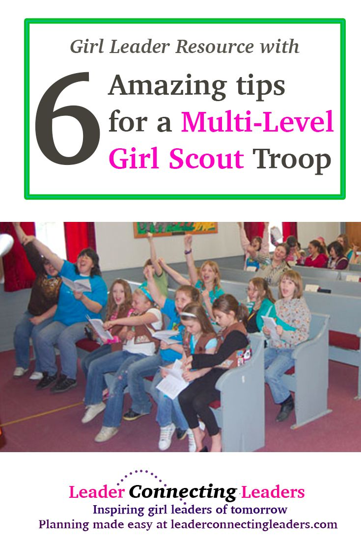 6 Helpful Tips For Multi-Level Scout Troops