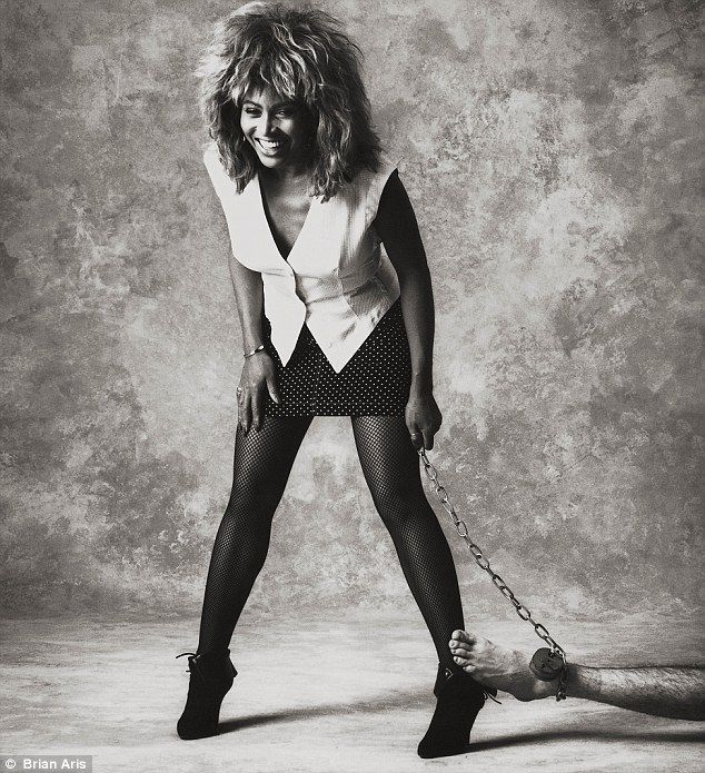 A man-eater, moi? Diva Tina Turner makes light of her raunchy image