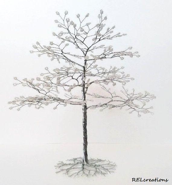 how to make beaded trees