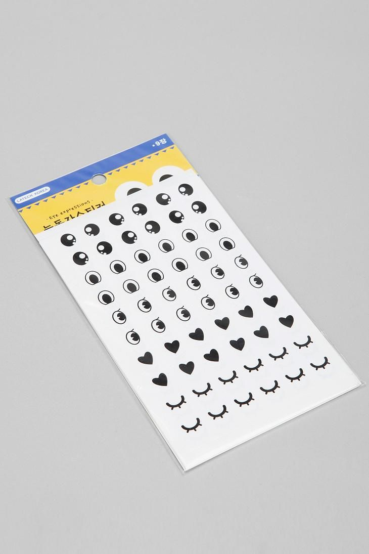 Eye Sticker Sheet #urbanoutfitters