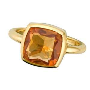 deep yellow citrine ring: Citrine Ring, Pillows Gifts, Sparkle, Bride