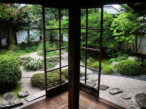 Janelao, madeira, vidro, jardin interno!