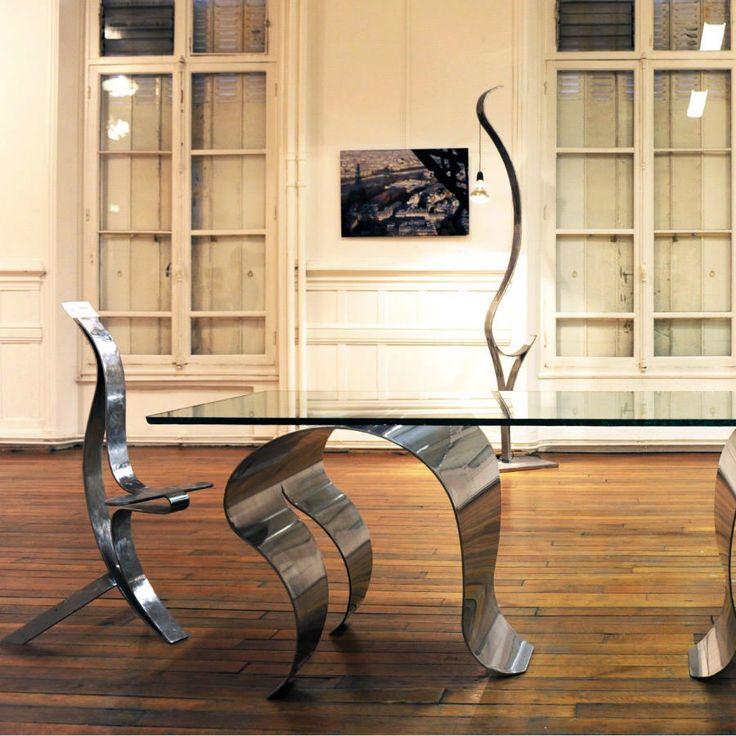 les 62 meilleures images du tableau tables design sur mesure sur pinterest. Black Bedroom Furniture Sets. Home Design Ideas