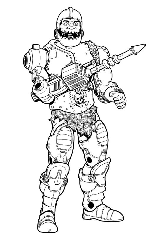 Coloring pages 261 pinterest for Masters of the universe coloring pages