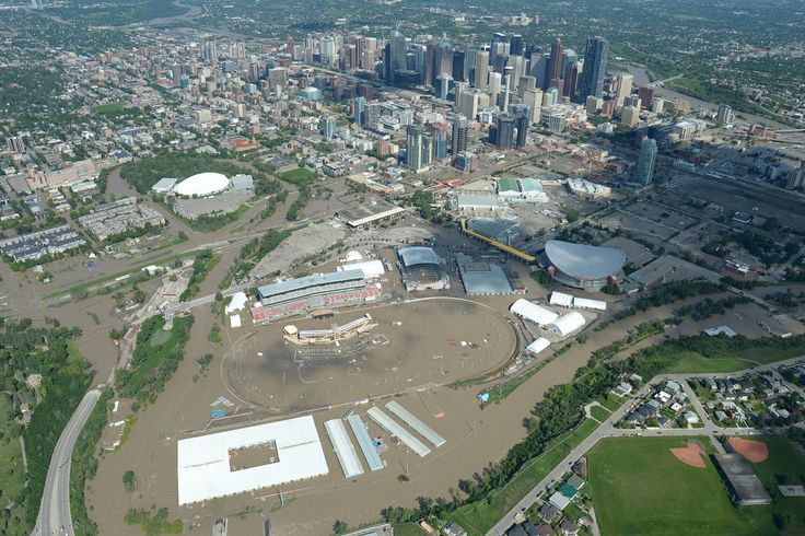 Alberta Floods From Above