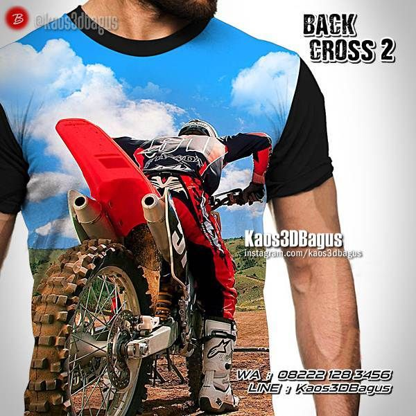 Kaos MOTOCROSS, Kaos TRAIL, Kaos3D, Freestyle Motocross, Dirt Bike, Motocross Tshirt, Enduro Cross, https://instagram.com/kaos3dbagus, WA : 08222 128 3456, LINE : Kaos3DBagus