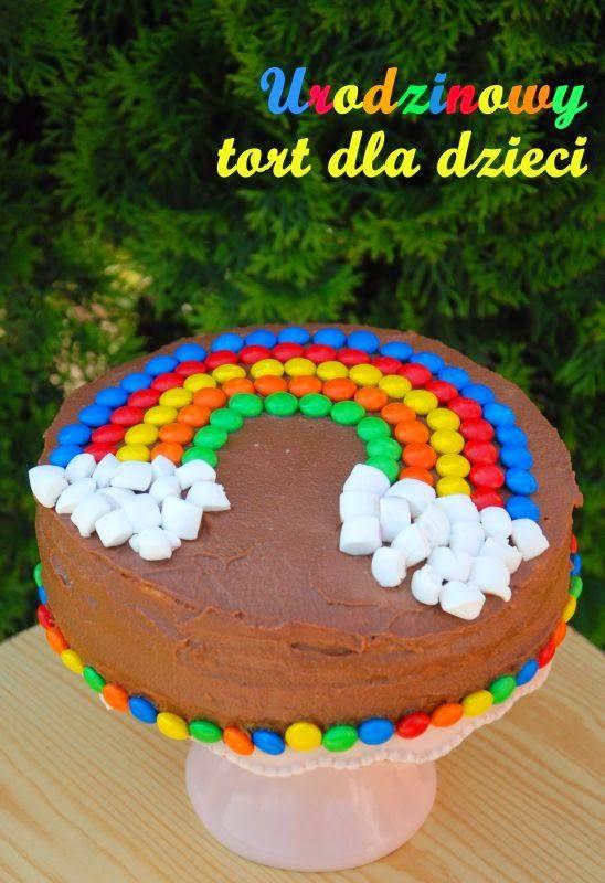Urodzinowy tort dla dzieci
