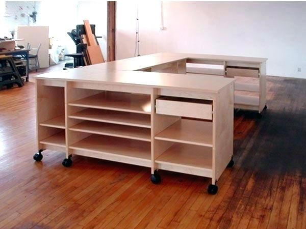 Artist Table With Storage Art Storage Furniture Artist Desks With Storage Art Studio On Wheels Organizati Art Studio Room Art Studio At Home Art Studio Storage