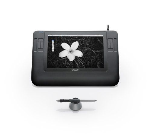 Wacom Cintiq 12WX 12-Inch Pen Display Finger-sensitive Touch Strips and ExpressKeys. Scratch-resistant glass surface. Native Resolution WXGA (1280 x 800).  #Wacom #PC_Accessory