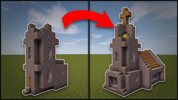 Minecraft  How To Remodel A Village Church