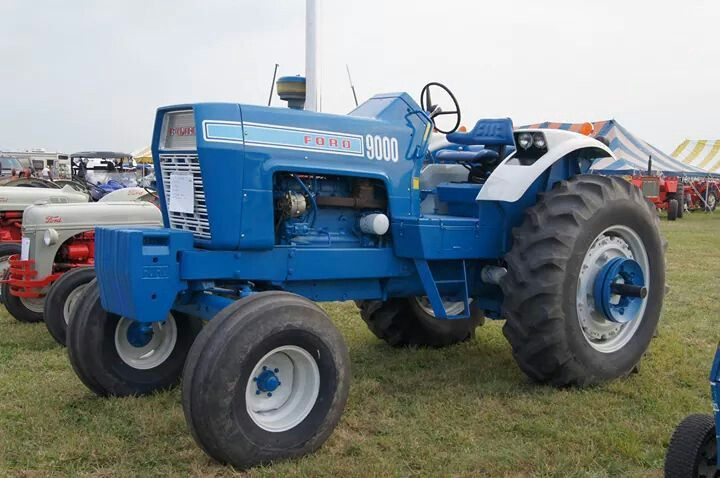1972 Ford 9000 Tractor : Ford tractor pinterest tractors and