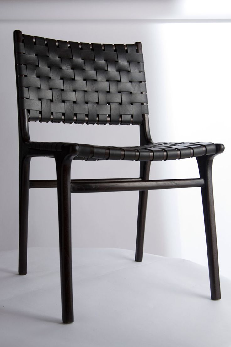 modern chair series double backed leather woven chair andrianna shamaris chairs white. Black Bedroom Furniture Sets. Home Design Ideas