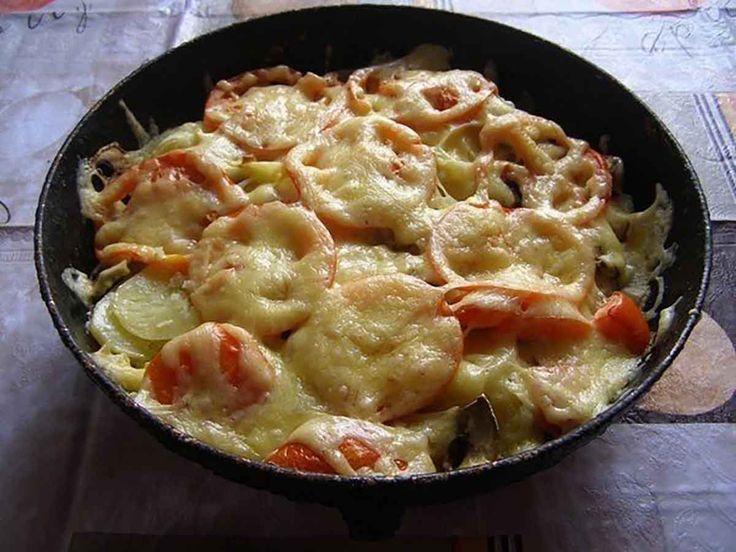 """""""Musacaua de legume cu ciuperci"""" este o rețetă foarte gustoasă, simplă și ușor de preparat. Este preparată din ingrediente nesofisticate,…"""