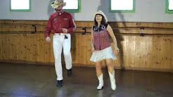 red hot rock n roller line dance country - YouTube