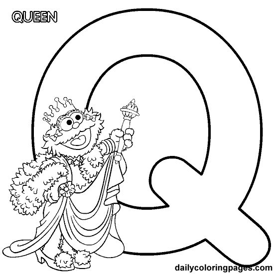 Miss alphabet coloring pages ~ 635 best images about Muppets and Sesame Street on ...