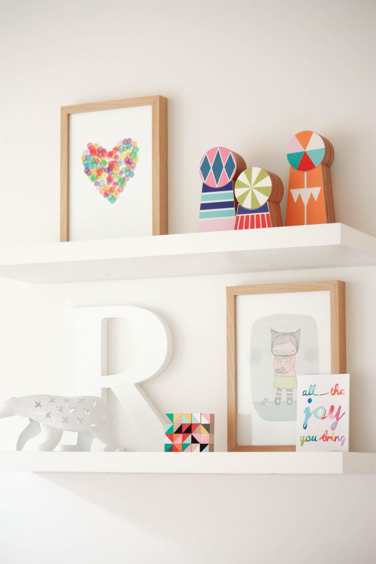 ikea floating shelves cute prints home children 39 s