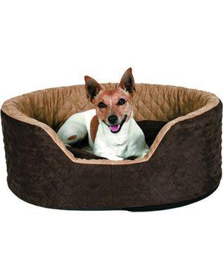 Trixie Hundebett Benito braun - 96x79x30cm