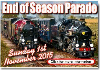 RHDR narrow gauge steam railway