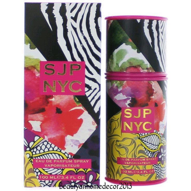 Sjp Nyc Perfume by Sarah Jessica Parker 3.4 oz Eau De Parfum Spray for Women NIB #SarahJessicaParker