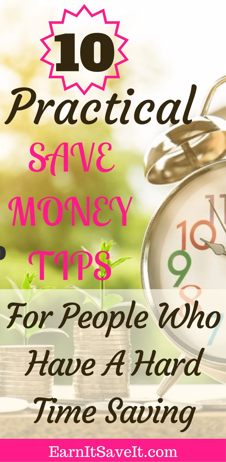 Have a hard time saving money? Now you can save with these 10 practical tips.