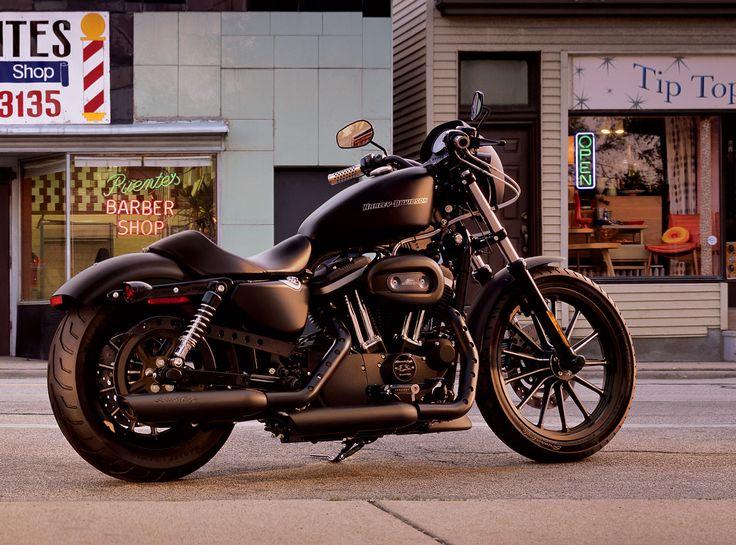Harley Dark Custom Iron 883. My First Bike (summer 2012)