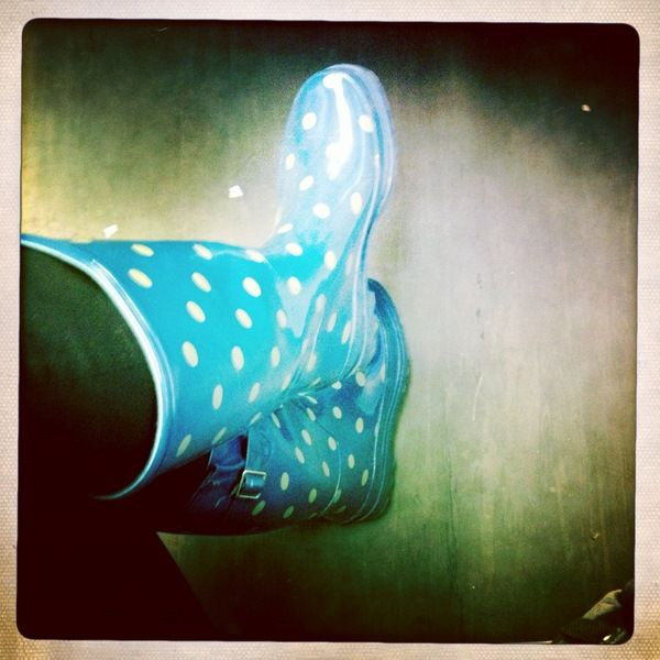 Rain boots, Kath Kidston.