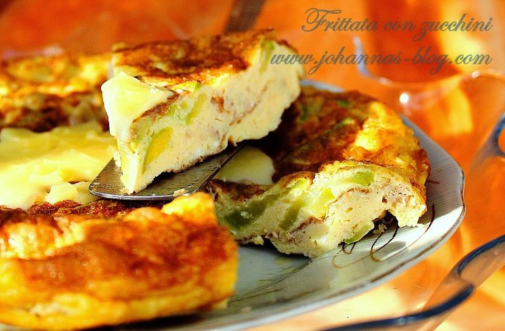 Johanna's recipes: Frittata con zucchini (omelette)