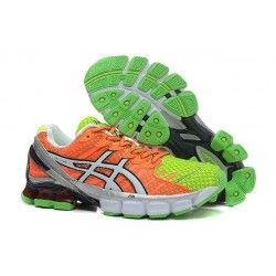 ASICS Gel Kinsei 4 Womens Orange/Green