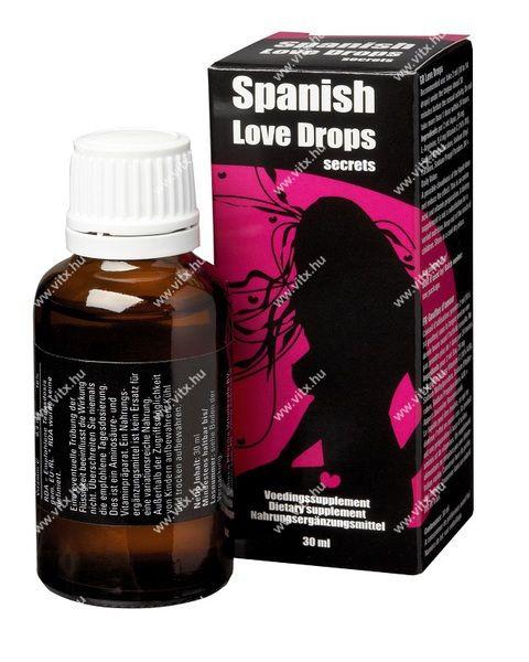 Spanish Love női cseppek_Vágyfokozók, vágykeltő szerek nőknek