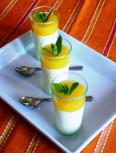 ....... dulcis in fabula: Panna cotta con gelée di mango