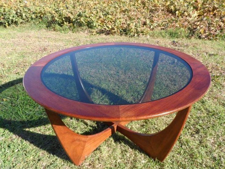 Mid Century Modern 1960's Teak Round G Plan Astro Coffee Table #MidCenturyModern #GPlanVictorWilkins