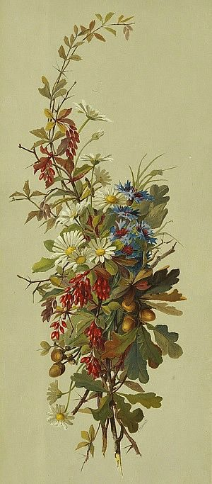 Auguste Schmidt - From Field and Wood  19th C