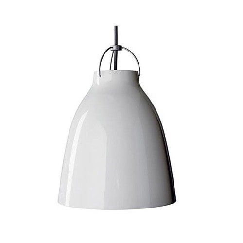 Caravaggio White Pendant Light // $335.75