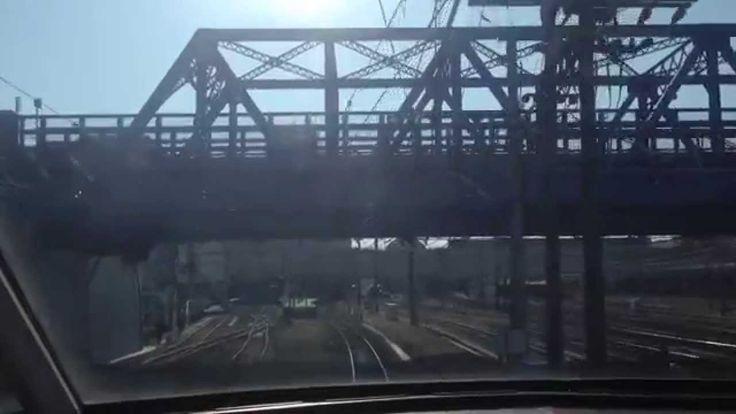 2分で名鉄名古屋駅から豊橋駅までをタイムラプラスで