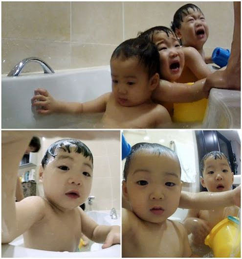 Daehan minguk manse are taking bath :D