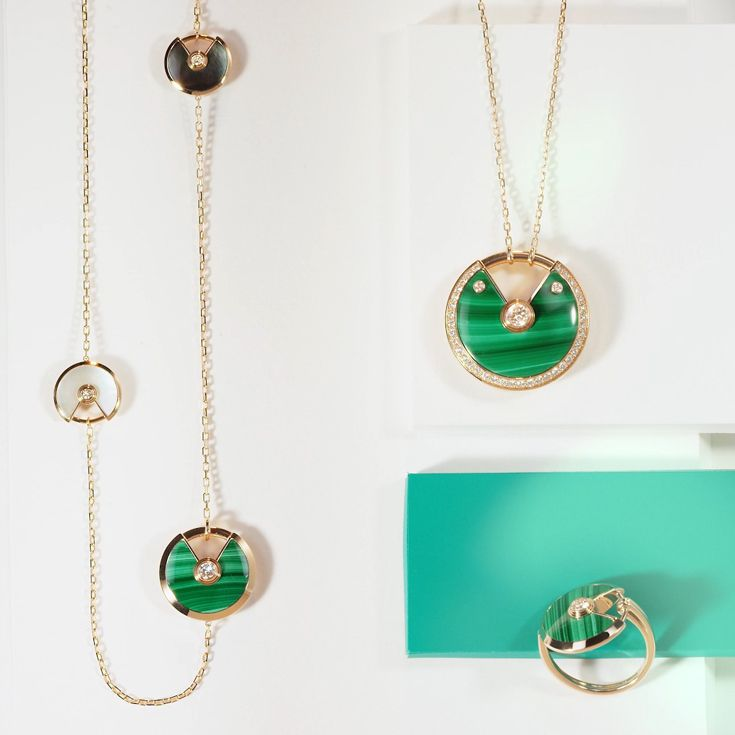 Green with a twist. #UnlockYourWish #AmulettedeCartier Discover the new collection