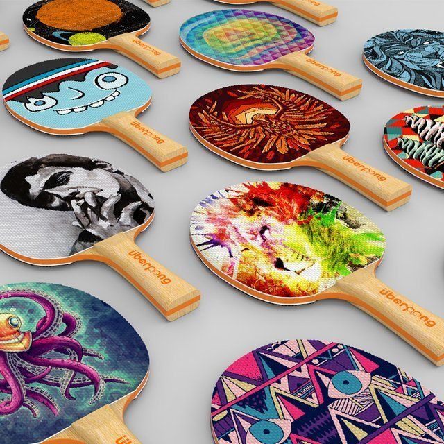 Ping Pong Paddles by Uberpong #Cool, #Design, #PingPong
